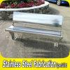 顧客用屋外のステンレス鋼のベンチ