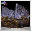 Indicatore luminoso esterno di motivo del giardino della striscia della decorazione LED natale/di festa