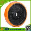 Rodas resistentes do plutônio do pneu amarelo