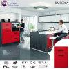 DIY modular acrílico brilhante de alta armário de cozinha de madeira para mobiliário de cozinha