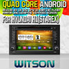 Witson S160 Car DVD GPS Player ForヒュンダイH1 (STAREX) /HYUNDAI ILOAD (Rk3188 Quad Core HD 1024X600 Screen 16GB Flash 1080P WiFi 3G Front (W2-M233B)との2007-201