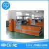 Máquina de rebobinamento e corte de rolo de folha de alumínio