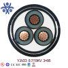 O fio de aço de condutores de alumínio viaturas blindadas de revestimento de PVC cabo subterrâneo 0.6/1kv 1,5mm2 2,5mm2 4mm2 6mm2 10mm2