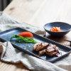 Glacê estrelado conjunto jantar estilo Sushi Japonês