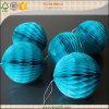 Los niños decoración de parte de tejido de flores de papel ecológicas colgantes bolas