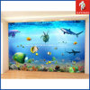 工場Custom PVC 3D Adhesive Sea Fish Wall Decal Sticker