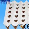 V type filtre en accordéon de papier de filtre à air de pli pour la cabine de peinture