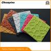 3D de l'autocollant autoadhésif PE mousse Wood-Grain Wallpapers, 3D de la brique PE mousse EVA papier peint papier peint de briques en 3D