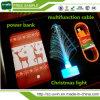 Regalo de Navidad Tarjeta de crédito ultrafino Portable Power Banco 4000mAh