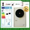 Salle fendue 12kw/19kw/35kw de mètre du chauffage d'étage de l'hiver de neige de la technologie -25c d'Evi de modèle 100~300sq Automatique-Dégivrent de premières pompes à chaleur évaluées de cop