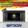 VW Touareg (W2-A6969)를 위한 Witson Android O.S. 4.4 Version Car DVD