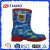 Удобные ботинки дождя PVC для детей/мальчиков (TNK70007)