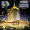120X15W RGBWA al aire libre Citcy color recargable LED Flood Light