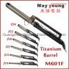 M601f Berufsdoppelspannungs-Titanhaar-flaches Eisen