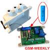 Регулятор отметчика времени GSM еженедельный с перезаряжаемые резервным сигналом тревоги батареи