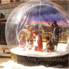 Ballon d'exposition gonflable à chaud avec fond de Noël