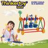 O bloco de apartamentos do brinquedo de DIY confunde o brinquedo para 3-6 crianças
