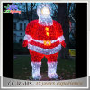 Motif de vacances Large Commmercial Santa / Snowman LED Light for Christmas Decoration