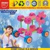 Brinquedo plástico educacional para blocos de apartamentos da sala de aula DIY