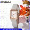 공장 고전적인 우연한 석영 OEM 숙녀 손목 시계 (Wy-056B)