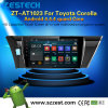 2 GPS van de Speler van de Auto DVD van DIN de Androïde StereoRadio van de Auto voor de Bloemkroon van Toyota