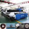Equipo del corte del laser de la fibra del tubo/de la placa del metal del CNC