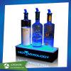 Socle acrylique léger LED pour les vins, plexiglas Boîte d'affichage à LED