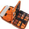 Универсальный двойной слой ходовой шестерни Организатор / Аксессуары для бытовой электроники подушек безопасности / Зарядное устройство для аккумулятора случае Esg10237