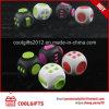 2017 Рекламная игрушка подчеркнуть беспокойство сбрасывает /стресса Cube Fidget куб