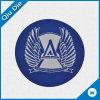 Ярлык /Patches голубого цвета круглый сплетенный с логосом клуба