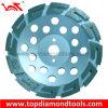 Segmented en U Diamond Cup Wheels pour Grinding Concrete avec Special Cooling Holes