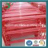 Galvanizado en caliente Revestimiento de PVC las barreras de control de multitudes con placa de características