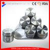 6PCSはステンレス鋼のスパイスの瓶を卸し売りおよびコショウのシェーカーセットした