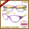Weibliche Art-Bambusbügel-Anzeigen-Gläser der Mode-R1593