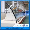 Vidro temperado curvo claro (ISO9001)