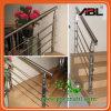 Roestvrij staal 316 van Abl de Leuning van de Trap van het Glas (DD091)