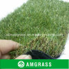 Artificial dell'interno Grass con Straight e Curly Yarn Amf414-40L