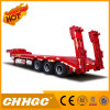 ISO CCC genehmigte 2 Welle Lowbed halb Schlussteil