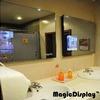 Лампа подсветки зеркала в рекламе в салоне с 6 изображений
