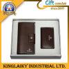 La pochette des hommes en cuir de Genniue en cadeau de jeu (KS-15)