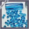 Aqua materia áspera/prima de la CZ azul del precio bajo, Zirconia cúbico áspero