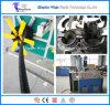 10-36mm Ligne de production d'extrusion de tuyaux ondulés en plastique à un seul mur PE / PP / PA