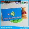 Molde de encargo de la impresión RFID de la insignia que bloquea la tarjeta