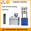 machine de test universelle hydraulique automatisée par 300kn pour le feuillard, essai de résistance à la traction de vis de barre