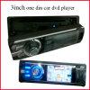 el reproductor de DVD del coche de 3inch TFT LCD con tirón desmontable abajo artesona
