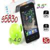 S5830 MTK 6573 3.5  telefone capacitivo de WiFi GPS do Android 4.0 de WCDMA