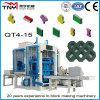 Bloc automatique de qualité de Qt4-15A faisant la machine de brique de machine