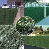 Il giardino poco costoso della rete fissa verde della parete protegge la barriera artificiale decorativa