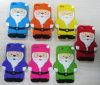 Горячий случай телефона силикона Santa Claus высокого качества