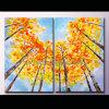 Pittura a olio moderna di paesaggio di arte della parete (KLLA2-0023)